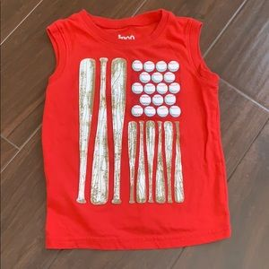 • Circo Baseball ⚾️ themed tank, 4T •